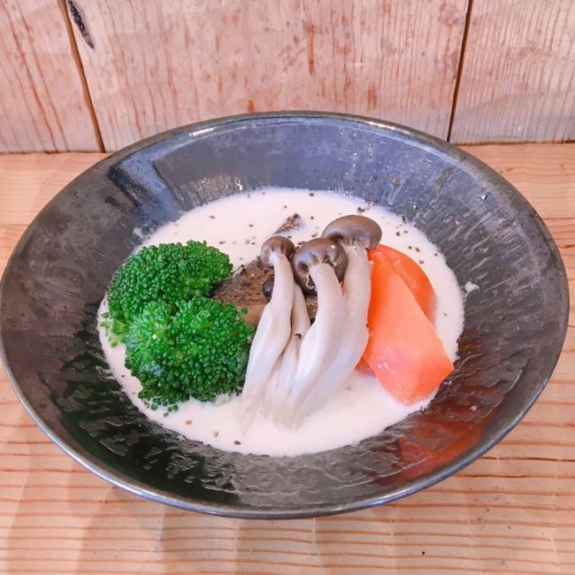 白身魚のミルク煮