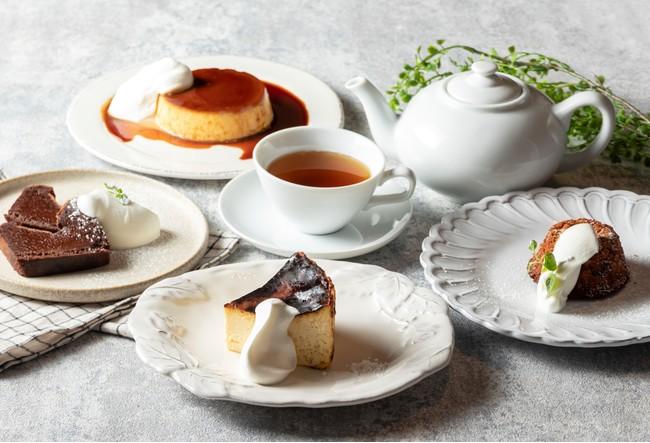 CAFE&TEAメニュー