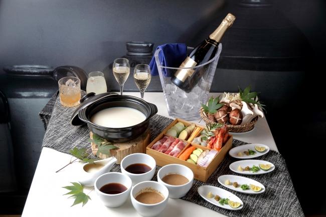「冬鍋×シャンドン」プラン