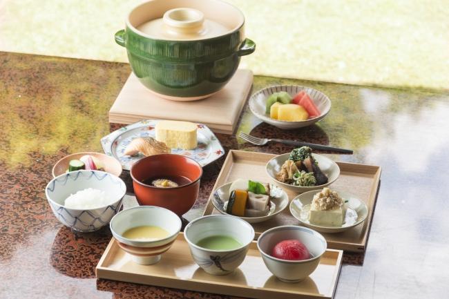 宿泊のお客様限定でご提供する「日本料理 柏屋」監修の和朝食