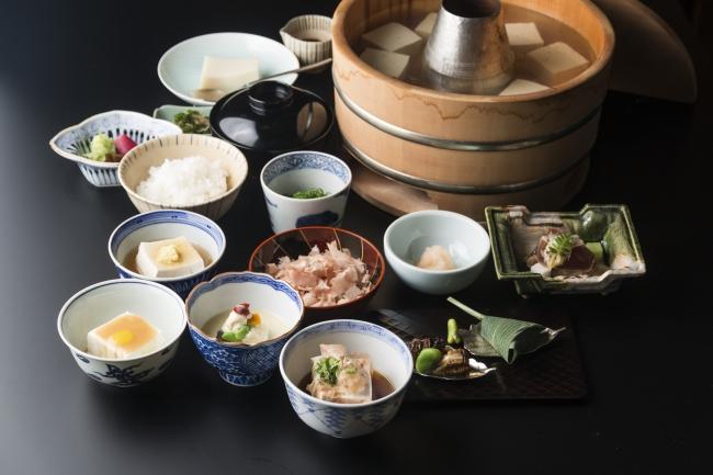 【昼のご会席】湯豆腐コース 5,000円