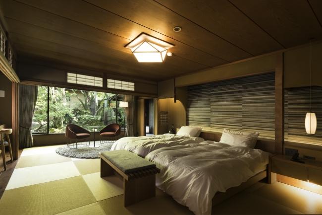 1日5組限定の旅館客室(写真は101号室)
