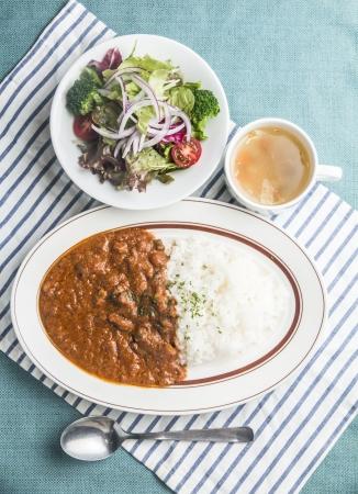 Hamac カレーランチ(スープ、サラダ付き) 900円