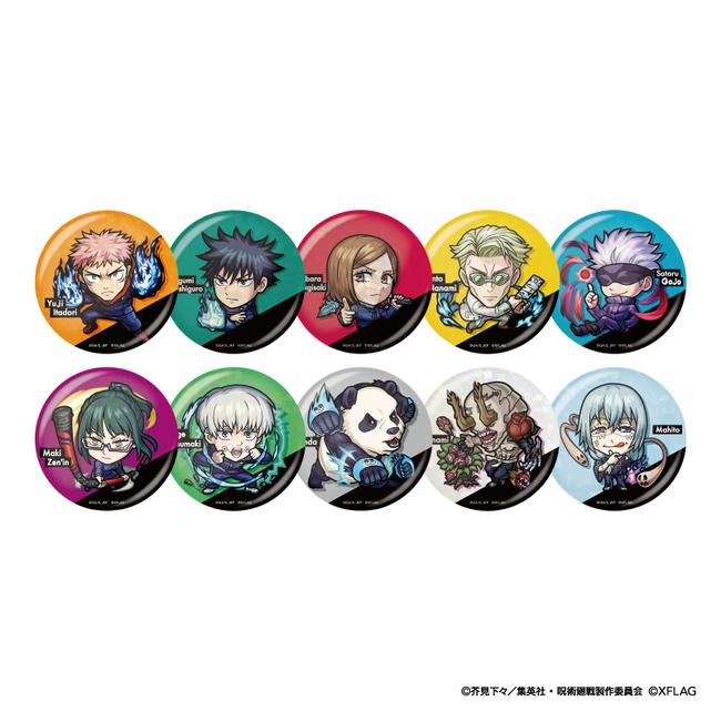 ホログラム缶バッジコレクション A 価格:各660円(税込)