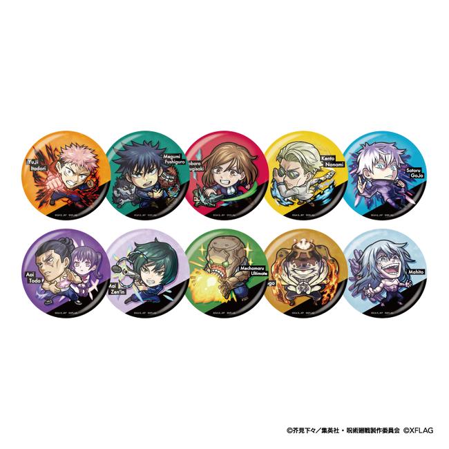 ホログラム缶バッジコレクション B 価格:各660円(税込)