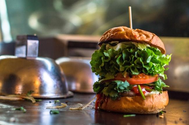 ▲smallaxe ハンバーガー