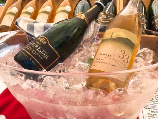 ▲クラフトワインセレクション カリフォルニアワイン (14日のみ出店)