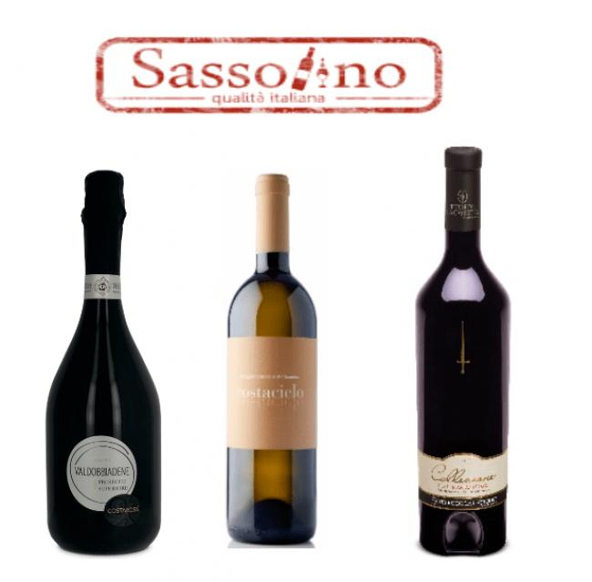 ▲Sassolino ワイン クリスマス 3本セット (14日・15日出店)