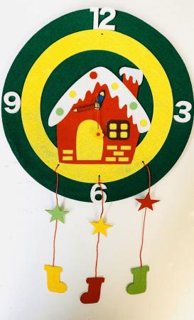▲プリュデコル 掛け時計を作るワークショップ (15日のみ出店)