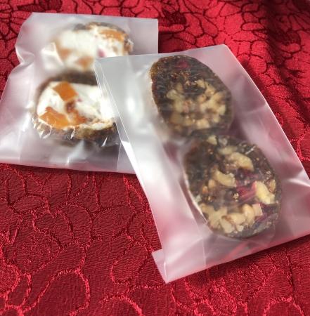 ▲ドライフルーツサラミ フィグログとフィグマロ (14日のみ出店)