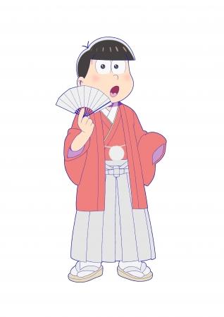 6月号 袴姿のおそ松
