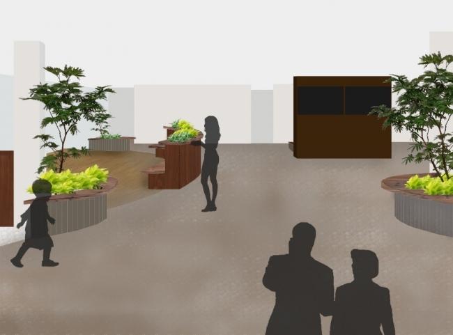 屋内緑化イメージ
