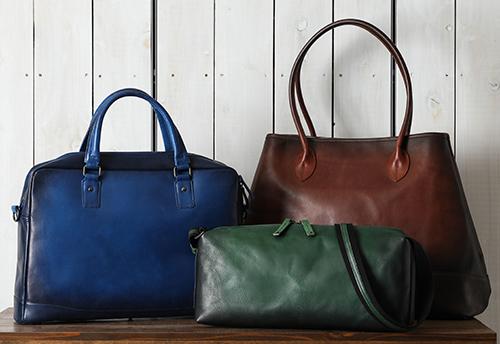 「Mond(モント)」には、職人の手仕事で仕上げたジャパンメイドのバッグが揃います