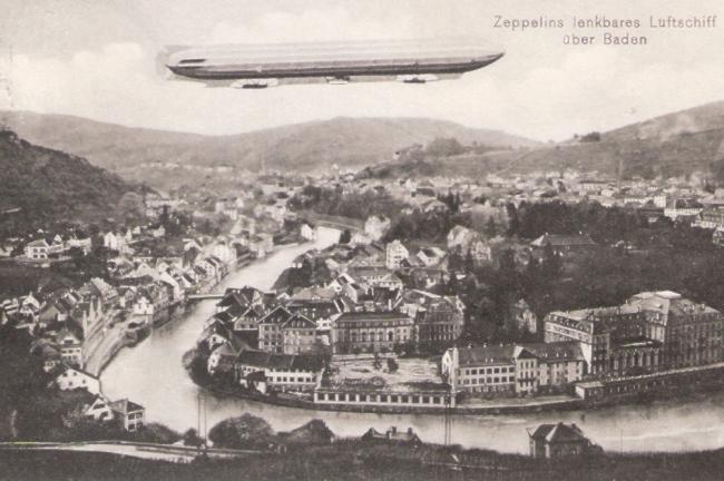 ドイツの飛行船ツェッペリン号