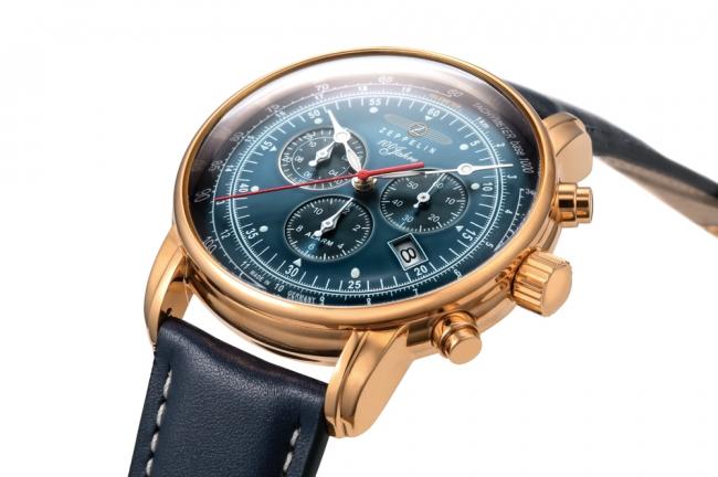 """size 40 a76bc 839c3 ドイツの腕時計『ツェッペリン』が仕掛ける青、通称""""ブルー ..."""