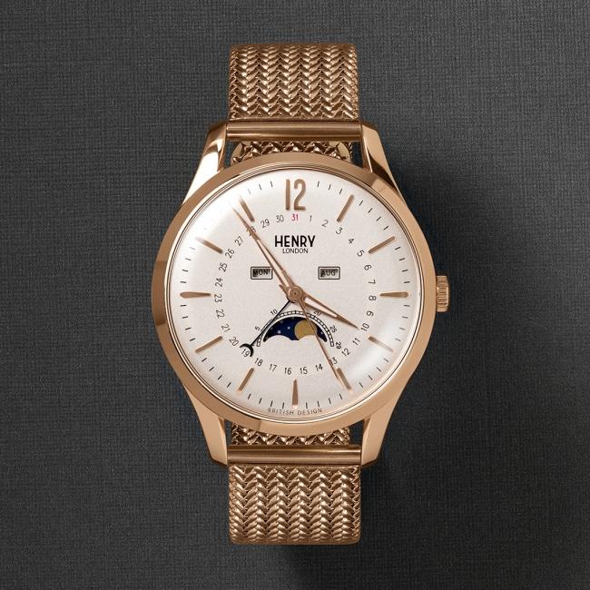 大人気!】英国の腕時計ブランド「ヘンリーロンドン」のムーンフェイズ ...