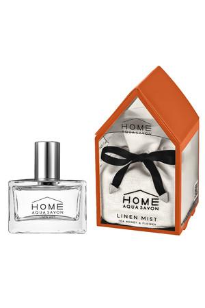 ■ホーム アクア シャボン リネンミスト グリーンティー&ムスクの香り
