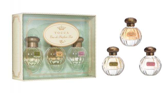左から フローレンスの香り、ステラの香り、クレオパトラの香り