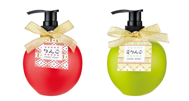 左から りんごの香り、青りんごの香り