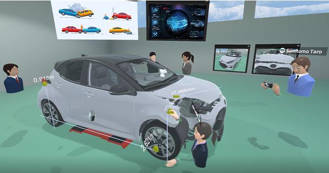 「VR事故車損害調査研修」イメージ