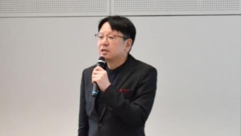 特別講演をしていただいた北海道介護福祉道場・あかい花 代表の菊地雅洋様