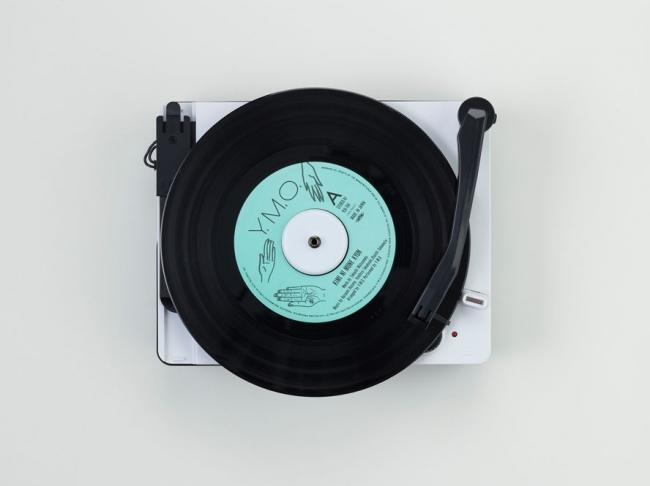 ▲EPアダプタが付属しているのでドーナツ盤も聴くことができます。