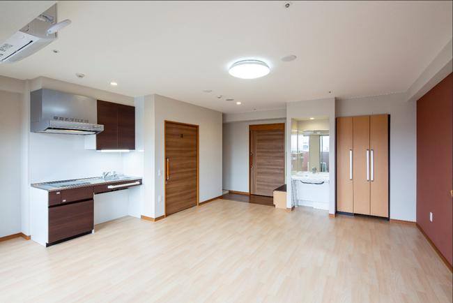 広めの2人用居室にはご夫婦などでもご入居できます