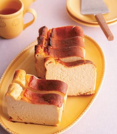 こんなしっとりチーズケーキもおからパウダーで