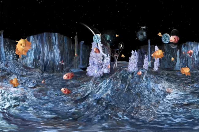 ▲深海には奇妙な生物たちがいっぱい!