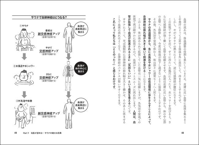 サウナ→水風呂→外気浴を行うとき、交感神経と副交感神経はそれぞれどうなっているのかを丁寧に解説