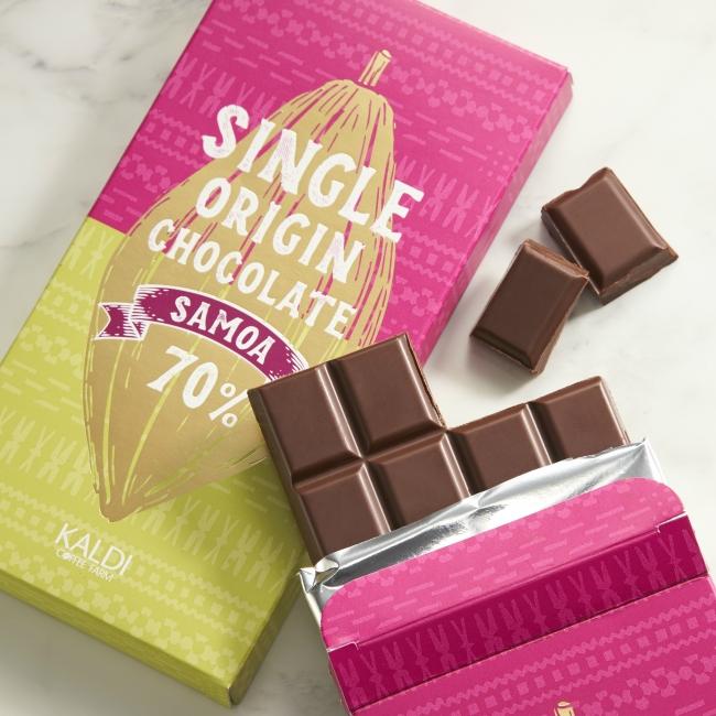 オリジナル シングルオリジンチョコレート サモア_イメージ