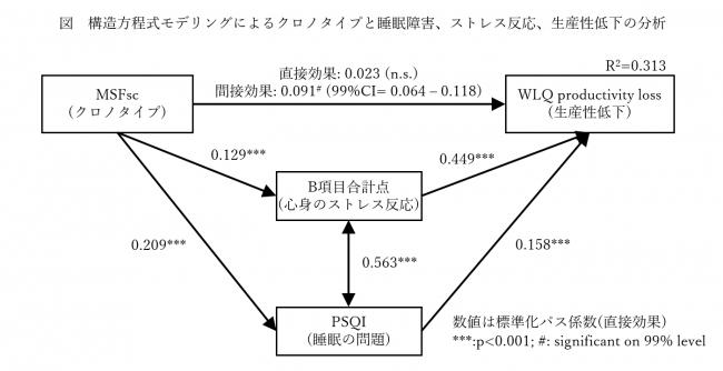 影響力の解析図(パス図)