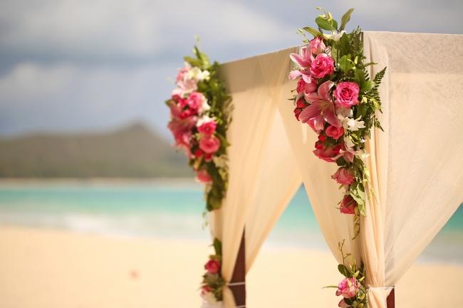 ワイマナロビーチ 2015 年に全米No.1ビーチに選ばれた白い砂浜とエメラルドグリーンの海が美しいビーチです。   (ワイキキから40 分)
