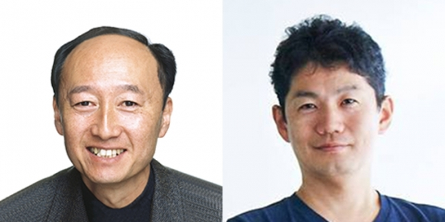 (左から)岩田洋夫、江渡浩一郎