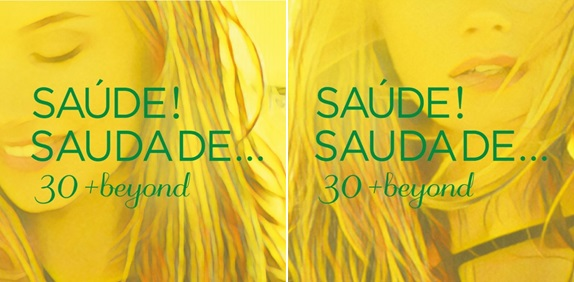 放送30周年記念コンピレーションCD『SAÚDE! SAUDADE...30+beyond』(左がソニーミュージック編、右がユニバーサル ニュージック編)