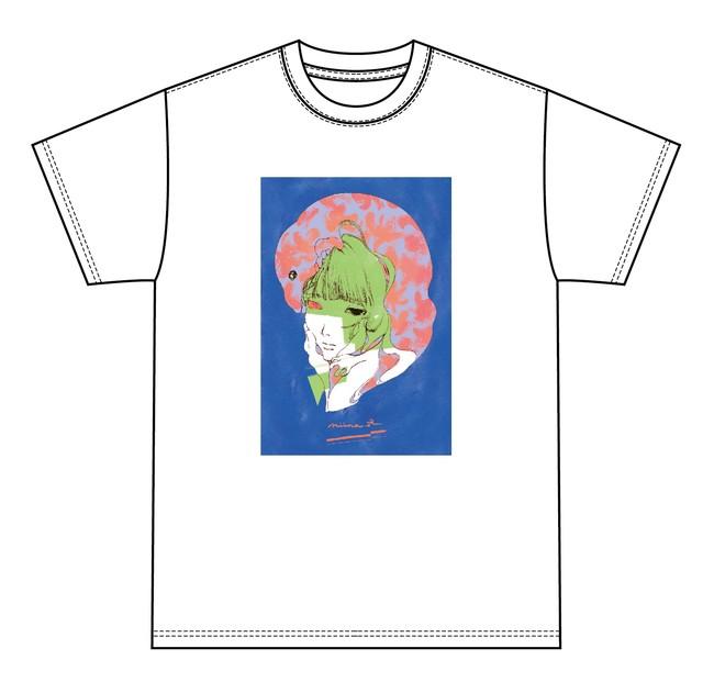 藍にいなデザインTシャツ