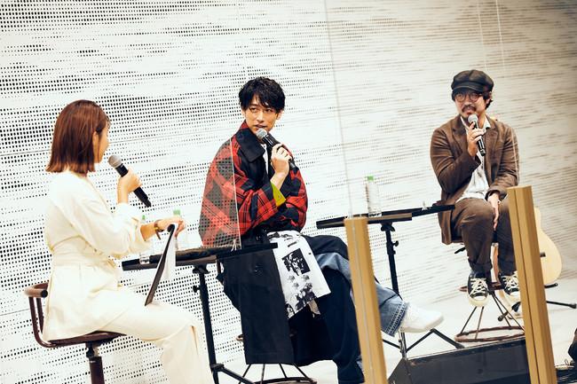 三原勇希、DEAN FUJIOKA、THE CHARM PARKのトークセッション!