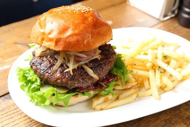 USプライムビーフ100%肉汁たっぷりハンバーガー
