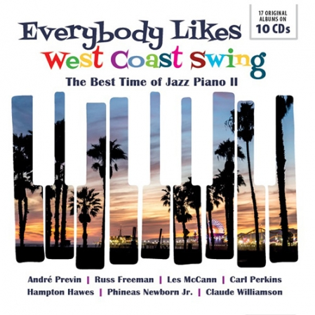 『EVERYBODY LIKES WEST COAST SWING       The Best Time of Jazz Piano II』