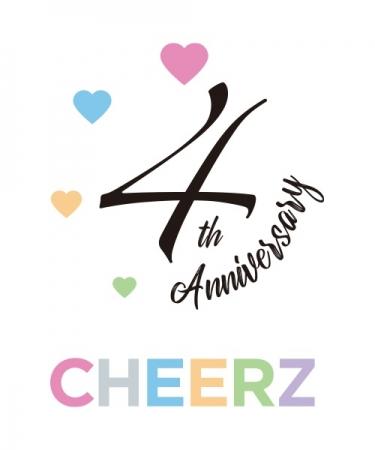 「CHEERZ」4周年ロゴ