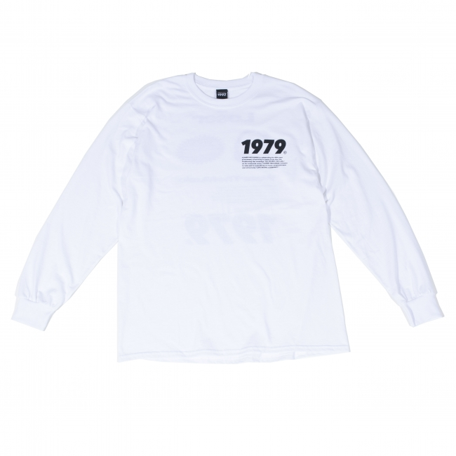 Youth Loser × WEARTHEMUSIC LONG T-SHIRTS(WHITE)FRONT