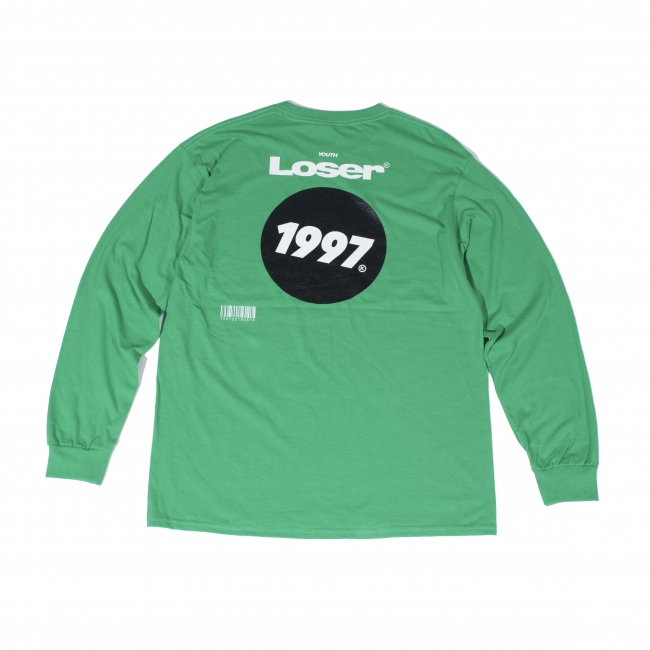 青年失败者长T恤(爱尔兰绿色)返回