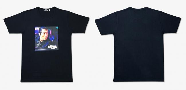 矢沢永吉 × TOWER RECORDS T-shirt ブラック