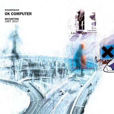 『OK COMPUTER OKNOTOK 1997 2017』ジャケット