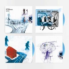 LPレコード(ブルー・ヴァイナル)