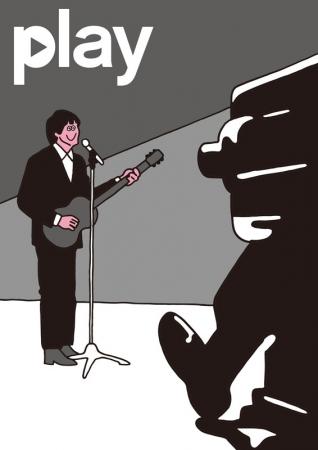 FACE氏「PLAY ▶」コラボヴィジュアル