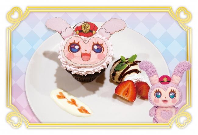 ラブピョコのふわもふカップケーキ