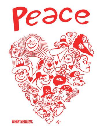 Love & Peace T-Shirt(PRINT)
