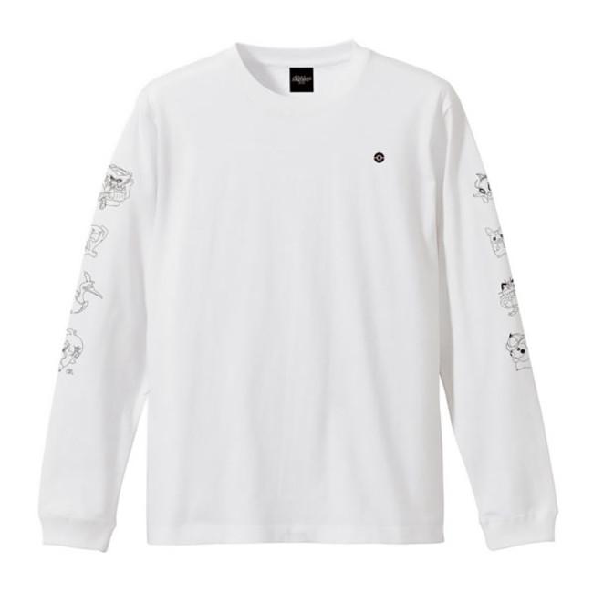 ロングスリーブTシャツ ホワイト