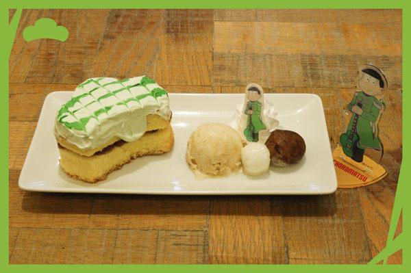 チョロ松の松抹茶パンケーキ